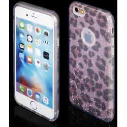 """Rožinės spalvos atverčiamas """"Telone Fancy"""" dėklas Apple iPhone 6/6s telefonui"""