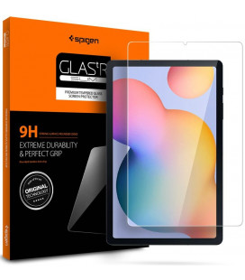 "Apsauginis grūdintas stiklas Samsung Galaxy Tab S6 Lite 10.4 P610/P615 planšetei ""Spigen Glas.TR Slim"""