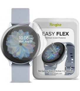 """Apsauginės plėvelės Samsung Galaxy Watch Active 1/2 (40mm) laikrodžiui """"Ringke Easy Flex"""""""