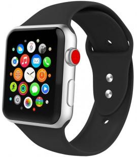 """Juoda apyrankė Apple Watch 1/2/3/4/5/6 (42mm/44mm) laikrodžiui """"Tech-Protect Iconband"""""""