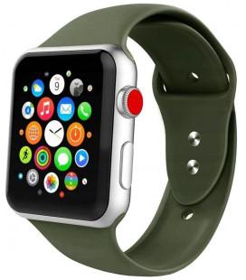 """Žalia apyrankė Apple Watch 1/2/3/4/5/6 (42mm/44mm) laikrodžiui """"Tech-Protect Iconband"""""""