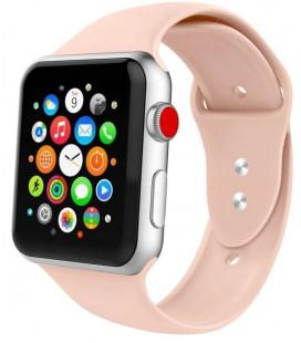 """Smėlio spalvos apyrankė Apple Watch 1/2/3/4/5/6 (42mm/44mm) laikrodžiui """"Tech-Protect Iconband"""""""