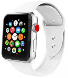 """Balta apyrankė Apple Watch 1/2/3/4/5/6 (42mm/44mm) laikrodžiui """"Tech-Protect Iconband"""""""