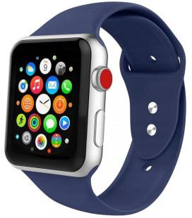 "Mėlyna apyrankė Apple Watch 1/2/3/4/5/6 (42mm/44mm) laikrodžiui ""Tech-Protect Iconband"""