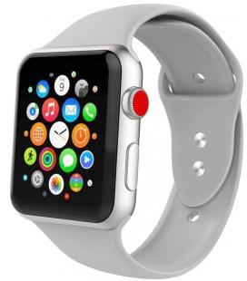 """Pilka apyrankė Apple Watch 1/2/3/4/5/6 (42mm/44mm) laikrodžiui """"Tech-Protect Iconband"""""""
