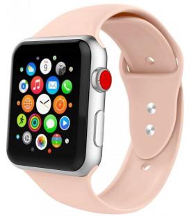 """Smėlio spalvos apyrankė Apple Watch 1/2/3/4/5/6 (38mm/40mm) laikrodžiui """"Tech-Protect Iconband"""""""