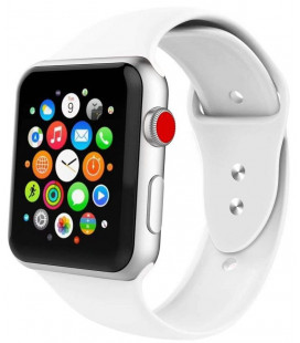 """Balta apyrankė Apple Watch 1/2/3/4/5/6 (38mm/40mm) laikrodžiui """"Tech-Protect Iconband"""""""