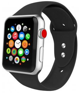 """Juoda apyrankė Apple Watch 1/2/3/4/5/6 (38mm/40mm) laikrodžiui """"Tech-Protect Iconband"""""""