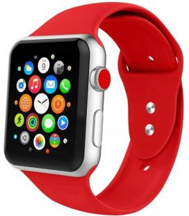 """Raudona apyrankė Apple Watch 1/2/3/4/5/6 (38mm/40mm) laikrodžiui """"Tech-Protect Iconband"""""""