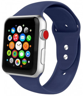 "Mėlyna apyrankė Apple Watch 1/2/3/4/5/6 (38mm/40mm) laikrodžiui ""Tech-Protect Iconband"""