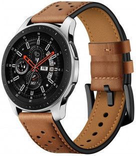 "Ruda apyrankė Samsung Galaxy Watch 3 45mm laikrodžiui ""Tech-Protect Leather"""