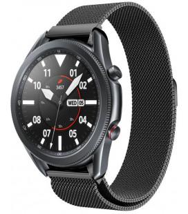 """Juoda apyrankė Samsung Galaxy Watch 3 45mm laikrodžiui """"Tech-Protect Milaneseband"""""""