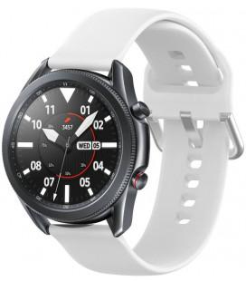 """Balta apyrankė Samsung Galaxy Watch 3 45mm laikrodžiui """"Tech-Protect Iconband"""""""