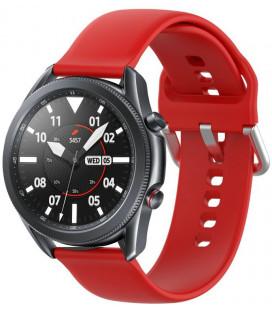 """Raudona apyrankė Samsung Galaxy Watch 3 45mm laikrodžiui """"Tech-Protect Iconband"""""""