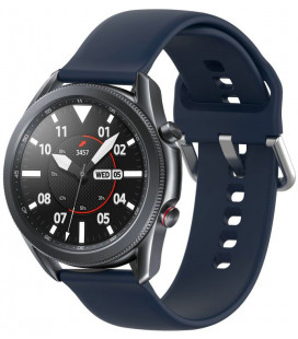 "Mėlyna apyrankė Samsung Galaxy Watch 3 45mm laikrodžiui ""Tech-Protect Iconband"""