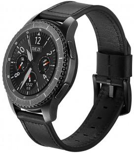 """Juoda apyrankė Samsung Galaxy Watch 3 45mm laikrodžiui """"Tech-Protect Herms"""""""