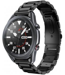 """Juoda apyrankė Samsung Galaxy Watch 3 41mm laikrodžiui """"Tech-Protect Stainless"""""""