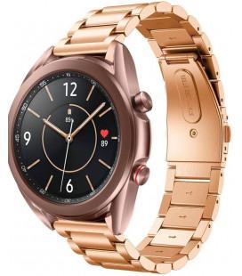 """Auksinės spalvos apyrankė Samsung Galaxy Watch 3 41mm laikrodžiui """"Tech-Protect Stainless"""""""