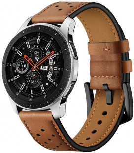 "Ruda apyrankė Samsung Galaxy Watch 3 41mm laikrodžiui ""Tech-Protect Leather"""