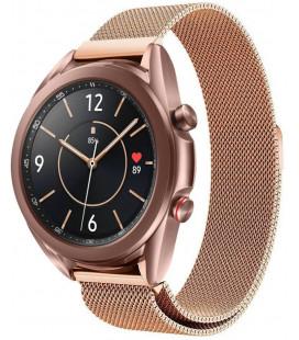 """Auksinės spalvos apyrankė Samsung Galaxy Watch 3 41mm laikrodžiui """"Tech-Protect Milaneseband"""""""