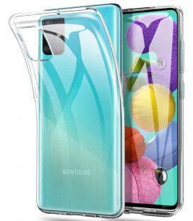 """Skaidrus dėklas Samsung Galaxy A31S telefonui """"Tech-Protect Flexair"""""""