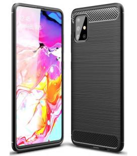 """Juodas dėklas Samsung Galaxy M31S telefonui """"Tech-Protect"""""""