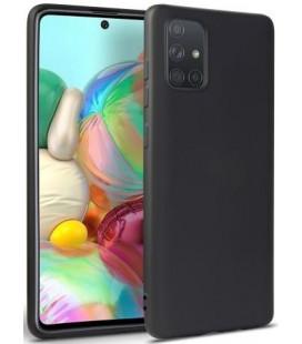 """Juodas dėklas Samsung Galaxy M31S telefonui """"Tech-protect Icon"""""""