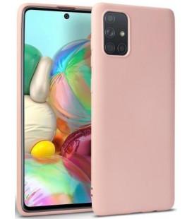 """Rožinis dėklas Samsung Galaxy M31S telefonui """"Tech-protect Icon"""""""