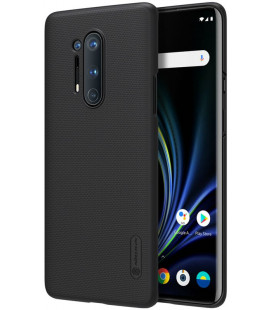 """Juodas dėklas Oneplus 8 Pro telefonui """"Nillkin Frosted Shield"""""""