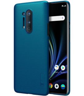 "Mėlynas dėklas Oneplus 8 Pro telefonui ""Nillkin Frosted Shield"""