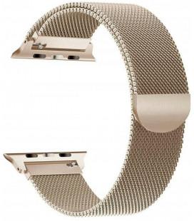 """Auksinės spalvos apyrankė Apple Watch 1/2/3/4/5/6 (42/44mm) laikrodžiui """"Tech-Protect Milaneseband"""""""