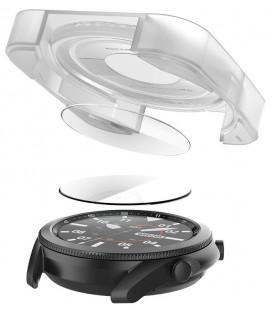 "Ekrano apsauga Samsung Galaxy Watch 3 (41mm) laikrodžiui ""Spigen Glas.TR EZ Fit"""