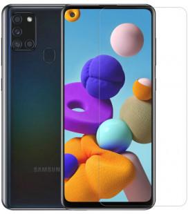 """Apsauginis grūdintas stiklas 0,2mm Samsung Galaxy A21S telefonui """"Nillkin Amazing H+ PRO"""""""