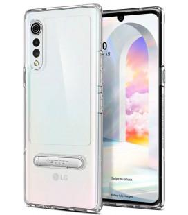 "Skaidrus dėklas LG Velvet telefonui ""Spigen Slim Armor Essential S"""