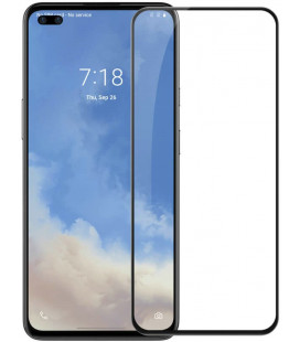 """Juodas apsauginis grūdintas stiklas Oneplus Nord telefonui """"Nillkin Amazing 2.5D CP+ Pro"""""""