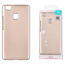 """Auksnės spalvos silikoninis dėklas Huawei P9 Lite telefonui """"Mercury iJelly Case Metal"""""""