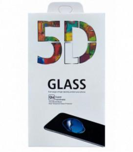 LCD apsauginis stikliukas 5D Full Glue Samsung A41 A415 lenktas juodas