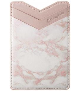 "Rožinis universalus kortelių dėklas telefonams ""Spigen Cyrill Shine Wallet"""