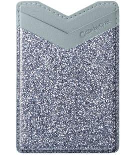 """Mėlynas/pilkas universalus kortelių dėklas telefonams """"Spigen Cyrill Shine Wallet"""""""