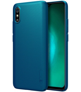 "Mėlynas dėklas Xiaomi Redmi 9A telefonui ""Nillkin Frosted Shield"""