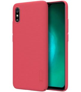 "Raudonas dėklas Xiaomi Redmi 9A telefonui ""Nillkin Frosted Shield"""