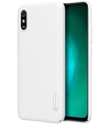 "Baltas dėklas Xiaomi Redmi 9A telefonui ""Nillkin Frosted Shield"""