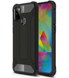 """Juodas dėklas Samsung Galaxy M21 telefonui """"Tech-Protect Xarmor"""""""