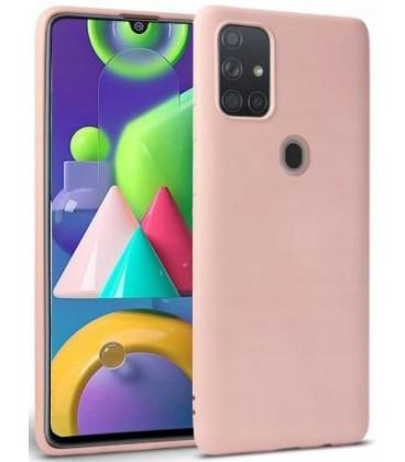 """Rožinis dėklas Samsung Galaxy M31 telefonui """"Tech-protect Icon"""""""