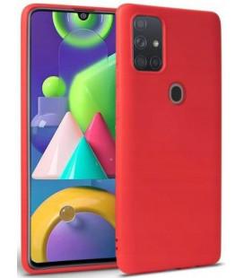 """Raudonas dėklas Samsung Galaxy M31 telefonui """"Tech-protect Icon"""""""