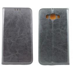 """Odinis juodas atverčiamas klasikinis dėklas Samsung Galaxy J5 2016 J510F telefonui """"Book Special Case"""""""