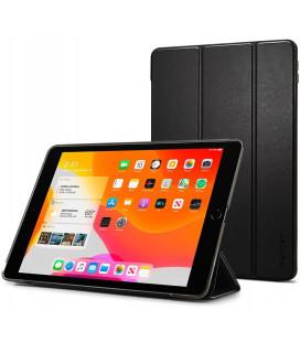 """Juodas atverčiamas dėklas Apple iPad 10.2 2019 / 2020 / 2021 planšetei """"Spigen Smart Fold"""""""
