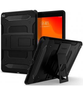 "Juodas dėklas Apple iPad 10.2 2019 / 2020 / 2021 planšetei ""Spigen Touch Armor Tech"""