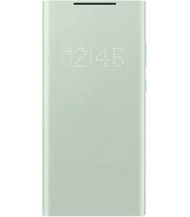 """Originalus žalias atverčiamas dėklas """"LED Flipcover Pro"""" Samsung Galaxy Note 20 telefonui """"EF-NN980PME"""""""
