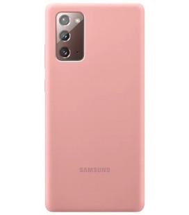 "Originalus dėklas ""Silicone Cover"" Samsung Galaxy Note 20 telefonui ""EF-PN980TAE"""